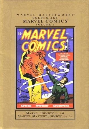 Marvel Masterworks: Golden Age Marvel Comics, Vol. 1