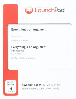 Launchpad for Everything's an Argument with Readings