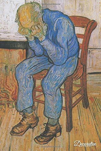 Decorative Notebook: At Eternitys Gate by Vincent Van Gogh Journal Pocket-sized Notebook Travel Diary
