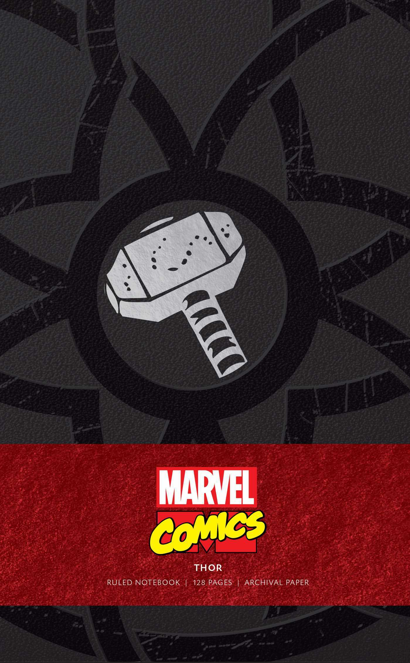 Marvel: Thor Ruled Notebook