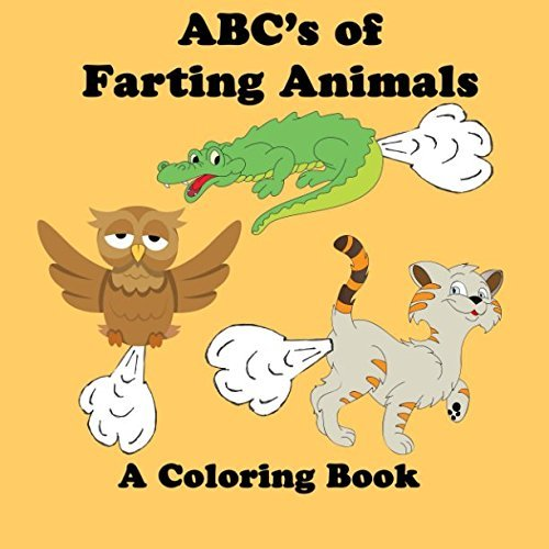 ABC's of Farting Animals Coloring Book