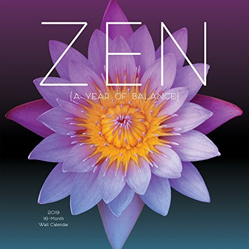 2019 Avalon 12 X 12 Zen Wall Calendar