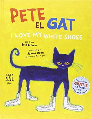 Pete, el gat: I love my white shoes