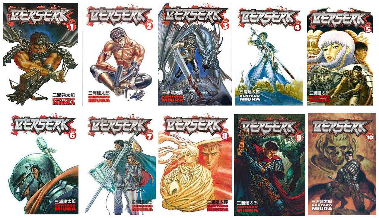 berserk, vol (1-10)