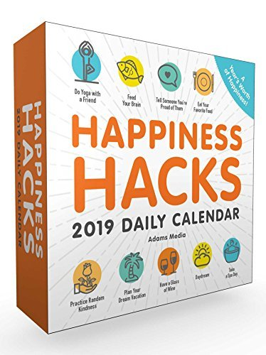 Happiness Hacks 2019 Daily Calendar