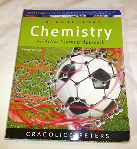 Introductory Chemistry, An Active Learning Approach, 4th edition