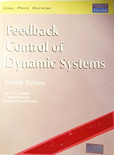 Feedback Control Of Dynamic Systems, 4E