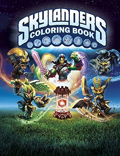 Skylanders Coloring Book: Great Activity Book for Kids