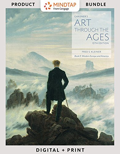 Bundle: Gardner's Art through the Ages: Backpack Edition, Book E: Modern Europe and America, Loose-Leaf Version, 15th + MindTap Art, 2 terms (12 months) Printed Access Card