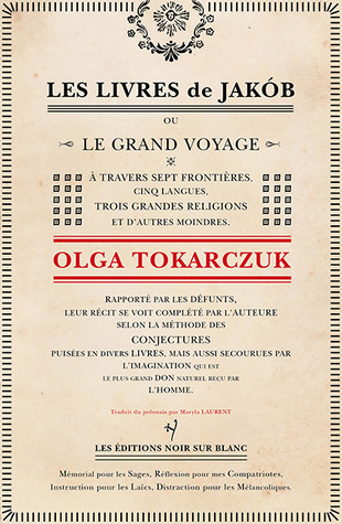 Les Livres de Jakób by Olga Tokarczuk