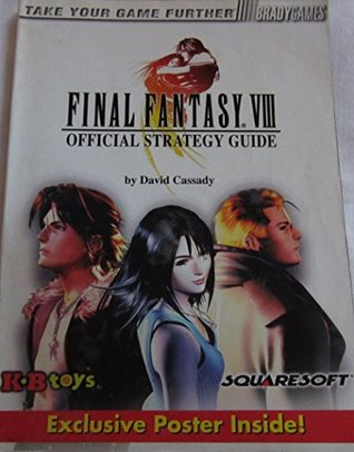 Final Fantasy VIII Official Strategy Guide: KB Toys Exclusive