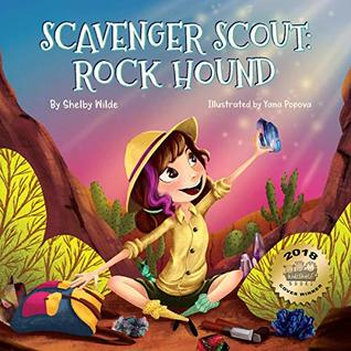 Scavenger Scout: Rock Hound: Seek-and-Find Book for Kids Who Love Rocks