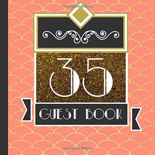 Guest Book 35th Anniversary Party Guest Book Includes Gift Tracker