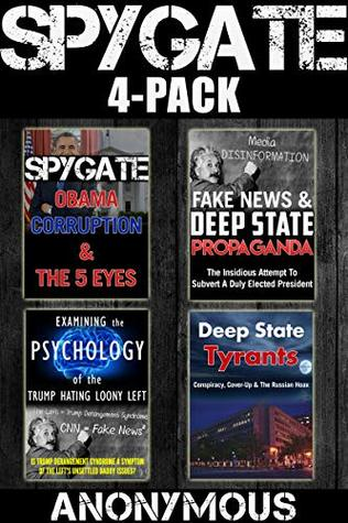 Spygate 4-Pack: A 4-in-1 Collection of Books