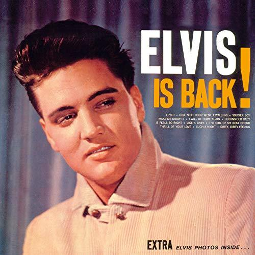 Elvis Collectors Edition Official 2019 Calendar - Square Wall Calendar with Record Sleeve Cover Format