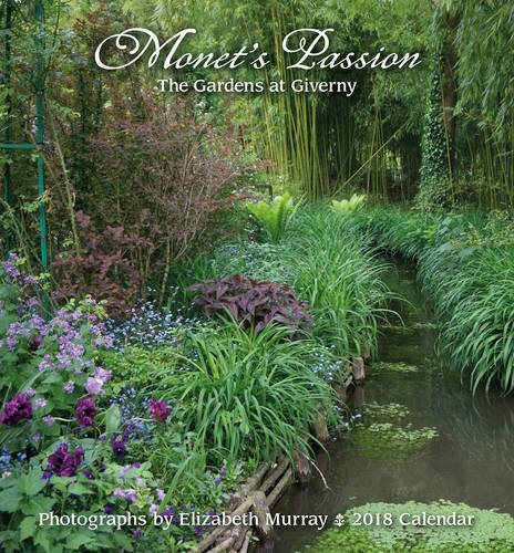 Monet's Passion 2018 Mini Wall Calendar: The Gardens at Giverny