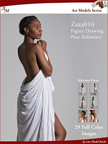 Art Models Zaza016: Figure Drawing Pose Reference