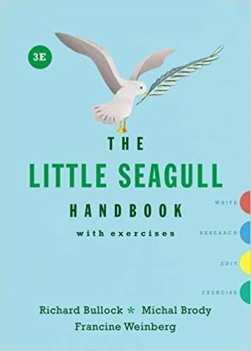 [The Little Seagull Handbook with Exercises 3rd Third Edition SPIRAL-BOUND (9780393602647)