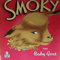Smoky the baby goat by Mary Elting