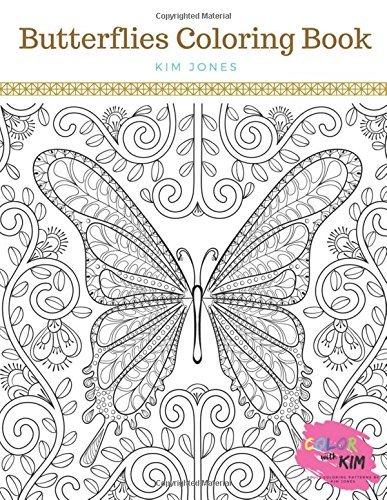 BUTTERFLIES: A Butterflies Coloring Book