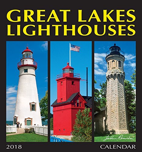 2018 Great Lakes Lighthouses Wall Calendar