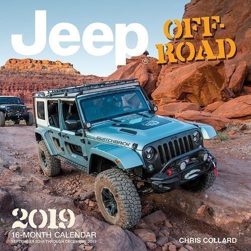 Jeep Off-Road 2019: 16-Month Calendar September 2018 through December 2019