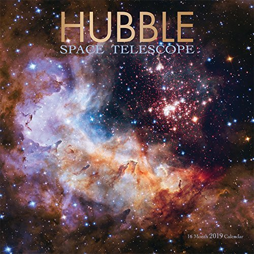 Hubble Space Telescope 2019 12 x 12 Inch Monthly Square Wall Calendar by Wyman, Science Space Technology