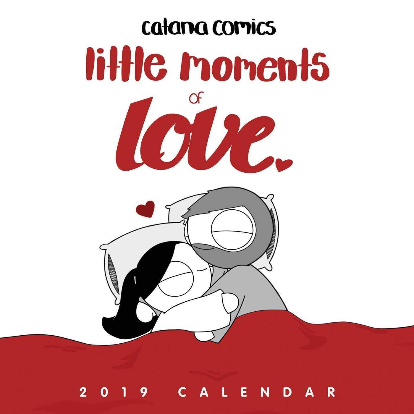 Little Moments of Love 2019 Wall Calendar