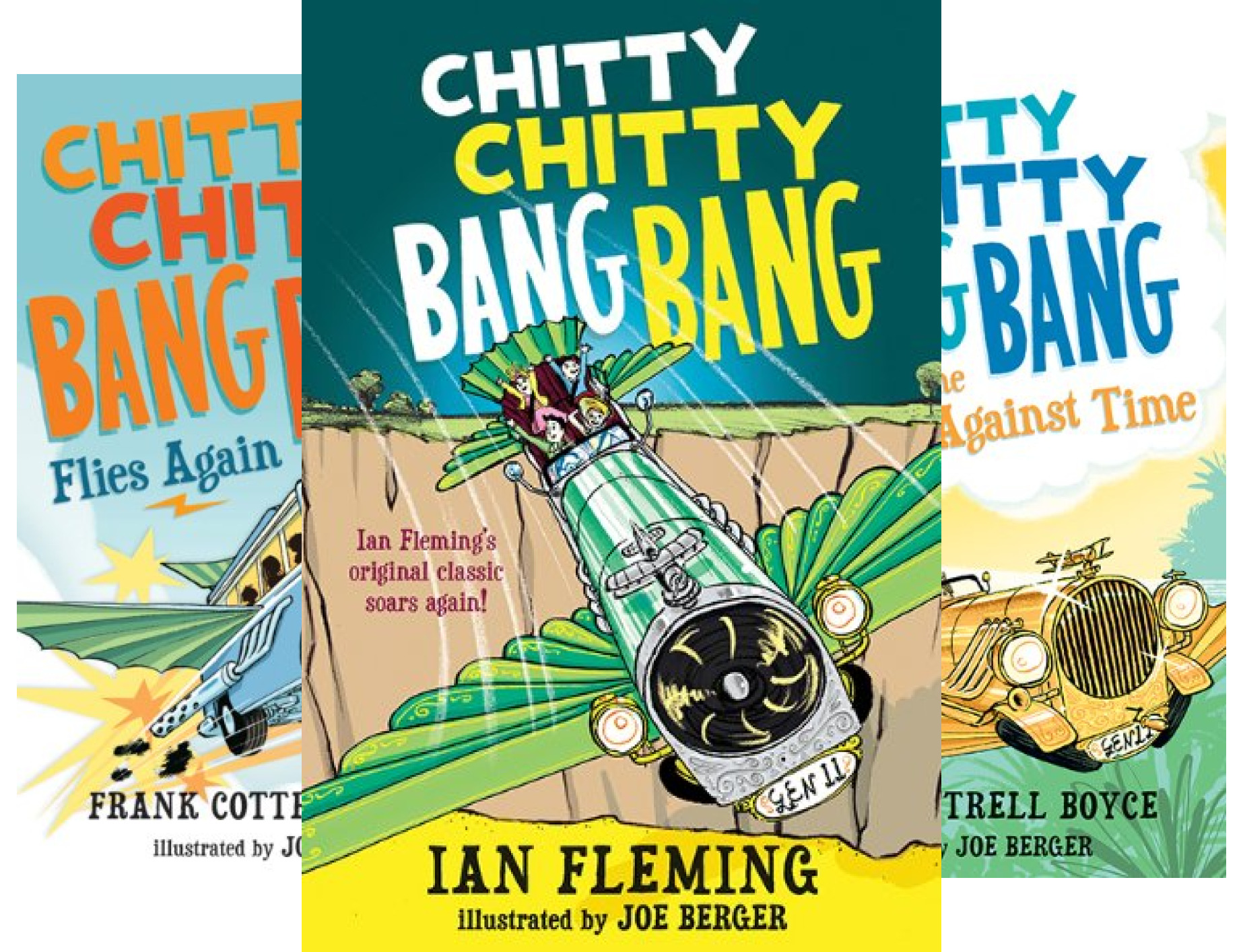 Chitty Chitty Bang Bang (4 Book Series)