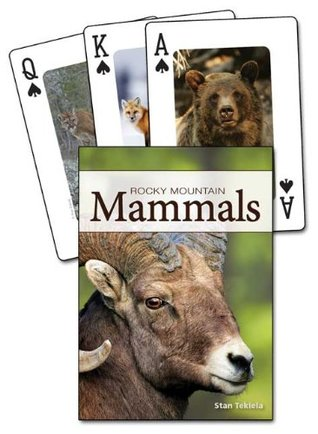 Mammals of the Rocky Mountains Playing Cards