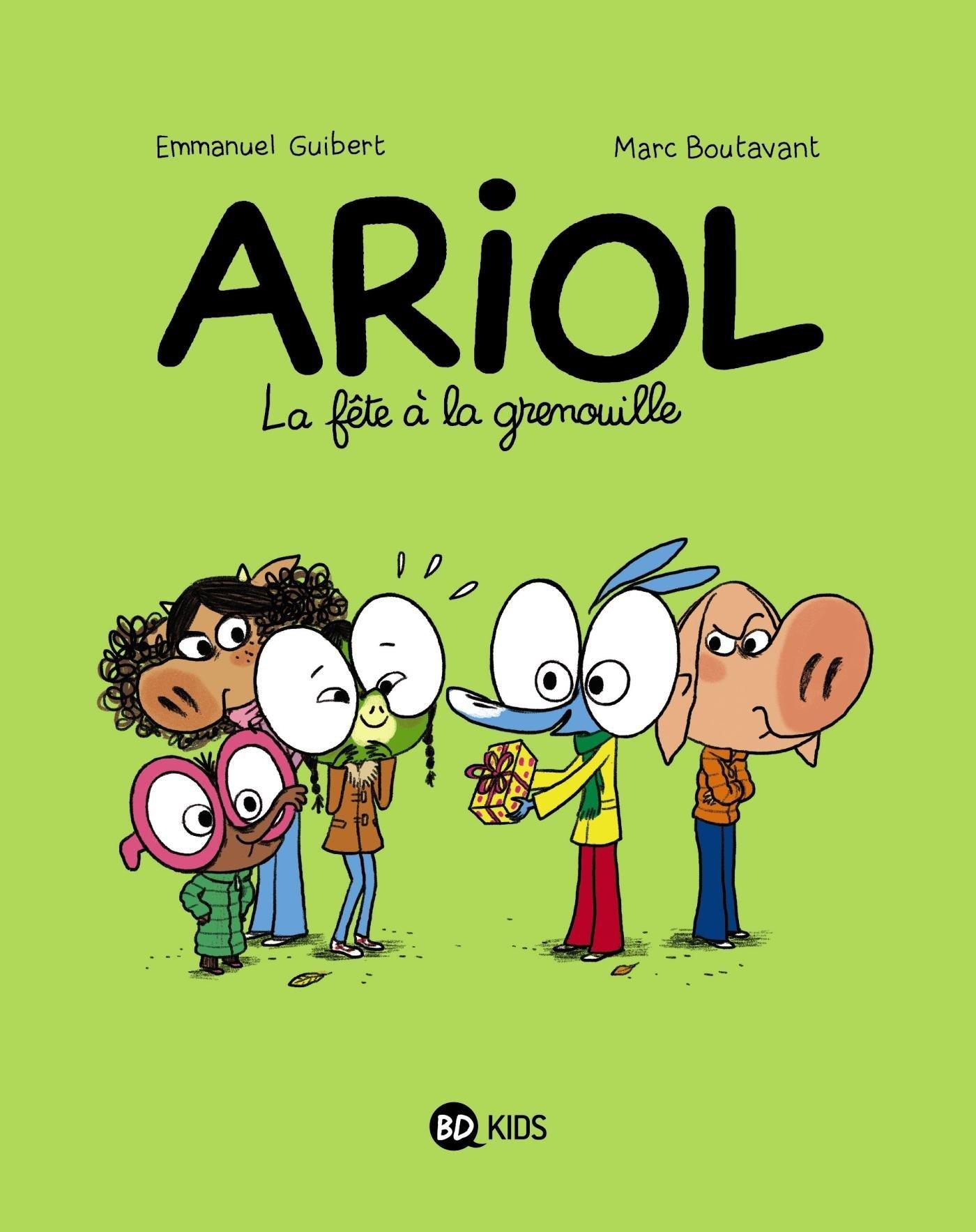La fête à la grenouille (Ariol #11)