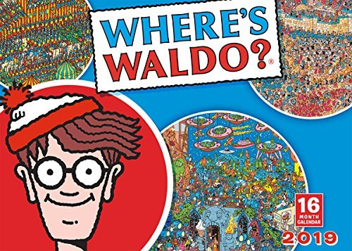 Where's Waldo 2019 Wall Calendar