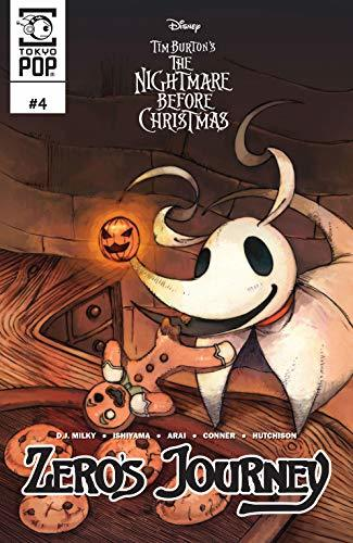Disney Manga: Tim Burton's The Nightmare Before Christmas: Zero's Journey Issue #4