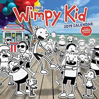 The Wimpy Kid 2019 Wall Calendar