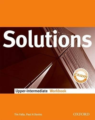 Solutions Upper-Intermediate: Workbook