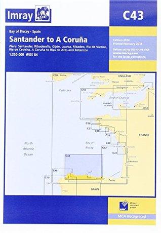 Imray Chart C43: Santander to A Coruna