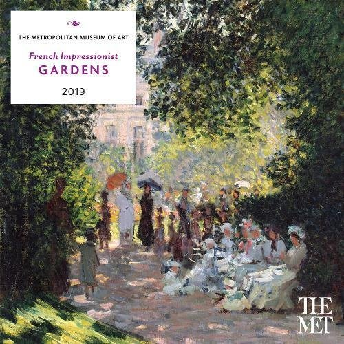 French Impressionist Gardens 2019 Wall Calendar