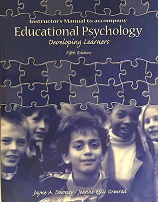 Educational Psychology, Developing Learners