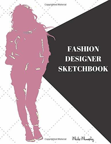Fashion Designer Sketchbook: Easily Sketch Your Fashion Design with Large Women Figure Template in different poses