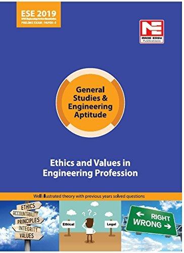 ESE (Prelims) 2019 Paper I: GS & Engineering Aptitude - Ethics & Values in Engineering Profession