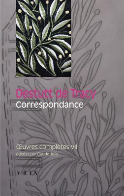 Oeuvres Completes Tome VIII: Correspondance