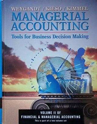 Managerial Accounting - Tools for Business Decision Making Slipcase