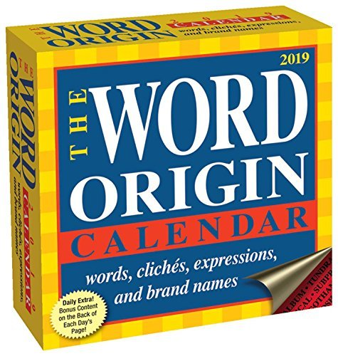 Word Origin 2019 Day-to-Day Calendar