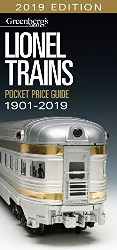 Lionel Trains Pocket Price Guide 1901-2019