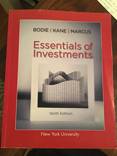 Essentials of Investments (9th Edition) [INTERNATIONAL PAPERBACK]