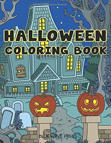 Halloween Coloring Book: Halloween Designs Adult Coloring Book (Adult Coloring Books)