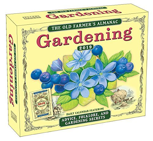 2019 the Old Farmer's Almanac Gardening Boxed Daily Calendar: By Sellers Publishing