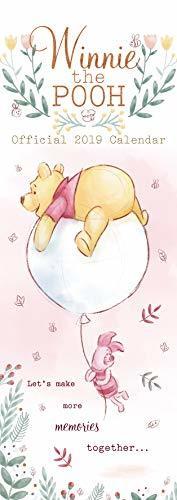 Winnie The Pooh Slim Official 2019 Calendar - Slim Wall Calendar Format