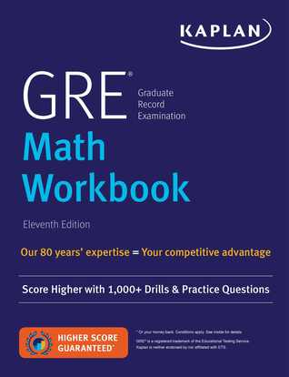 GRE Math Workbook: Score Higher with 1,000+ Drills  Practice Questions