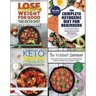 Complete ketogenic diet for beginners,crock pot cookbook 4 books collection set